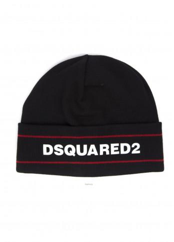 Шапка з логотипом бренду Dsquared2