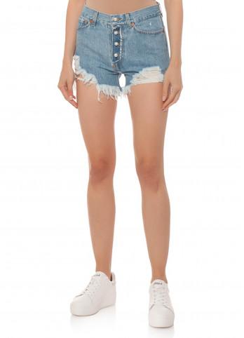 Короткие джинсовые шорты Forte dei marmi couture