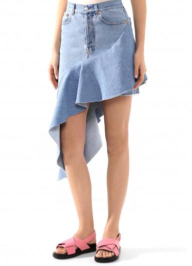 Асиметрична джинсова спідниця Forte dei marmi couture