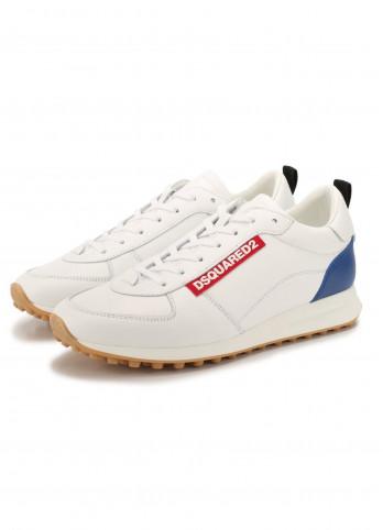 Кожаные мужские кроссовки Dsquared2