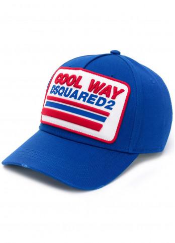 Бейсбольна кепка з вишивкою Dsquared2