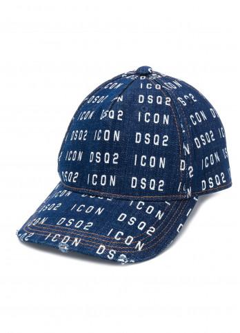 Бейсболка ICON з логотипом Dsquared2