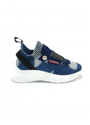 Джинсовые кроссовки D-Bumpy Dsquared2