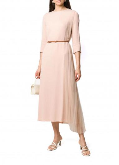 Асиметрична сукня з плісированого тюлю Fabiana Filippi