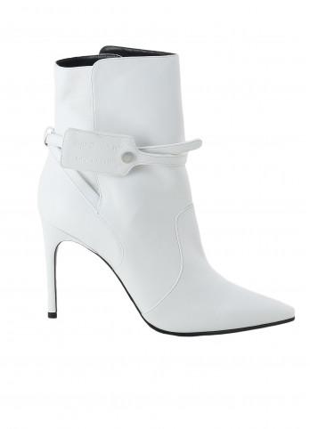 Білі ботильйони Zip bootie Off-white