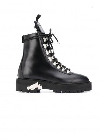 Чорні черевики-хайкери Off-white