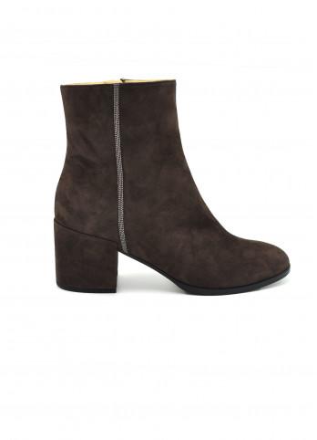 Замшеві черевики з бусинами Fabiana Filippi