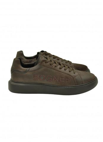 Шкіряні кросівки з потертостями Bogner