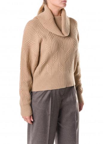 Бежевий жіночий светр Rocco Ragni