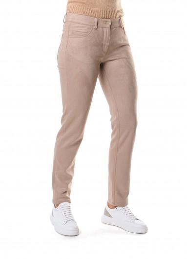 Бежеві жіночі штани Rocco Ragni