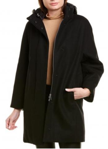 Вовняне пальто з пуховою підкладкою add