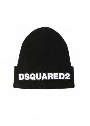 Шапка з нашивкою Dsquared2
