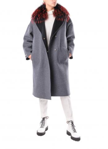 Вовняне двостороннє пальто