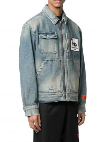 Джинсова куртка Heron Preston