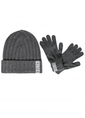 Комплект шапка та рукавиці Bikkembergs