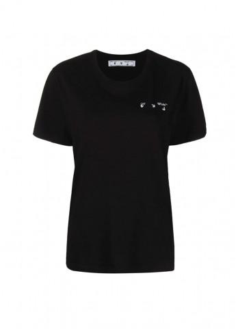 футболка чорна з логотипом Arrows