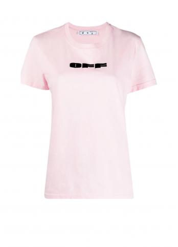 футболка з логотипом Off-White