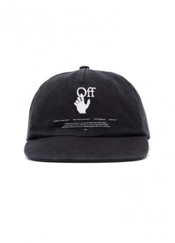 кепка з логотипом Hands Off