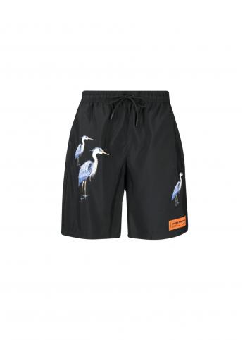Плавки-шорти з принтом Heron Preston