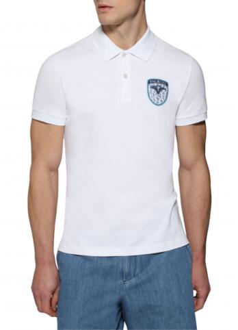 Футболка-поло з логотипом